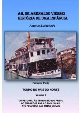 AH, SE ARENALDO VIESSE! HISTÓRIA DE UMA INFÂNCIA 1ª. Parte volume II: Do retorno às terras do Rio Preto ao embarque para   o País do Sul até Pirapora das Minas Gerais
